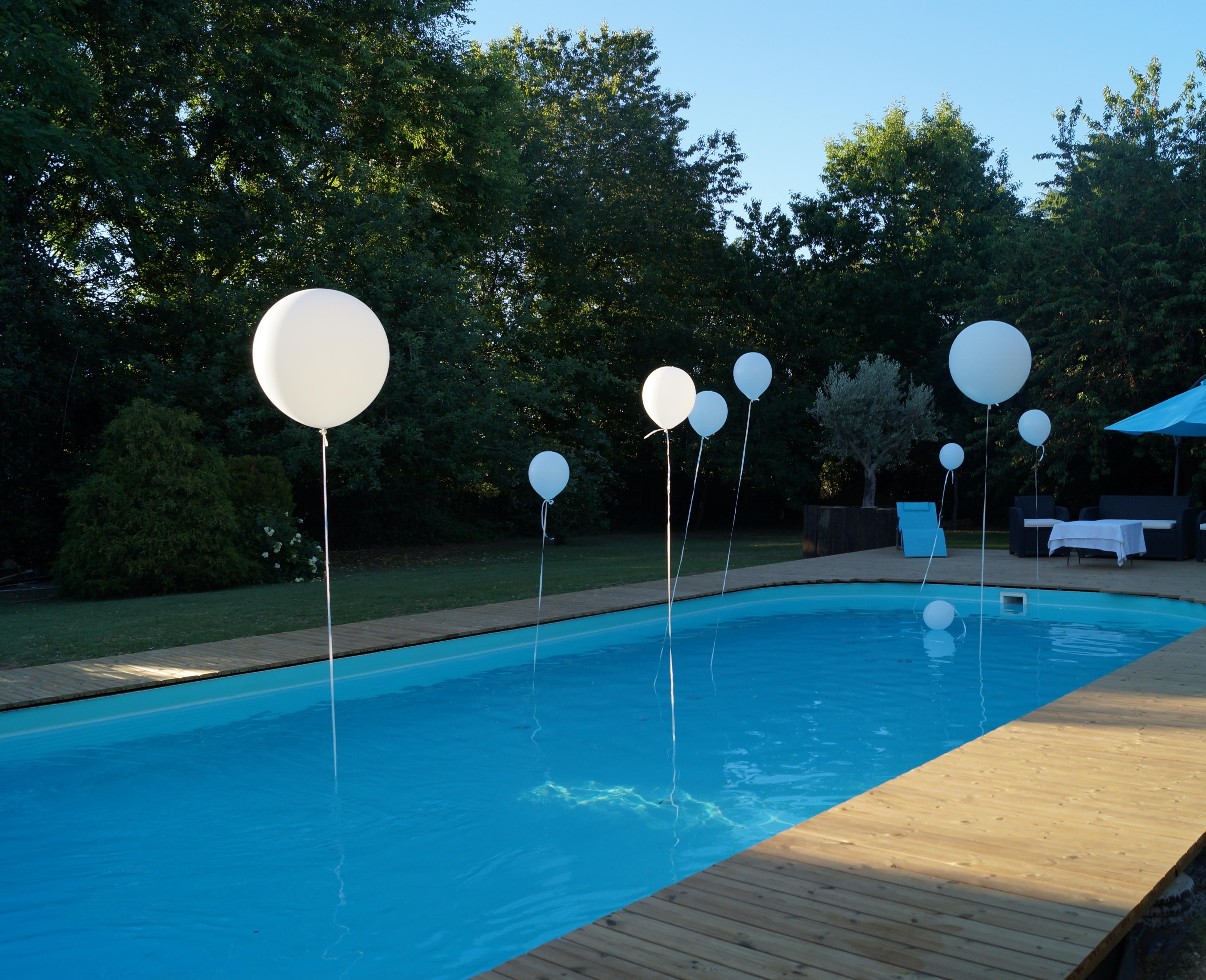 Projet plages de piscine
